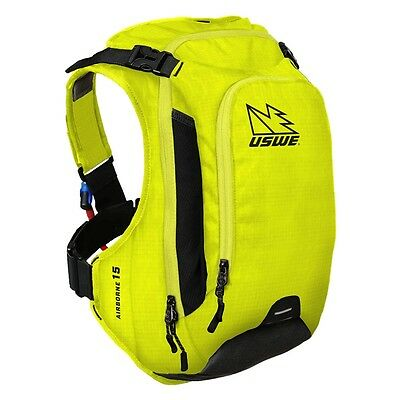 USWE Airborne 15 Hydration Pack - Crazy Yellow