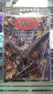 Kyser Quick Change Capo 6-String Acoustic Guitar - Made in USA - Camouflage