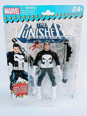 "Marvel Legends Vintage Series The Punisher 6"" Action Figure Retro - In Stock MIB"