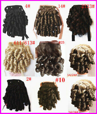 High Quality New Ringlet Curly Dance Hair Piece Extension Ponytail For Party