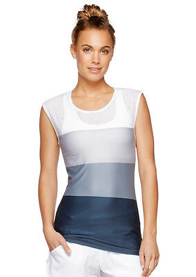 NEW Womens Lorna Jane Activewear   Carrie S/Slv Active Top