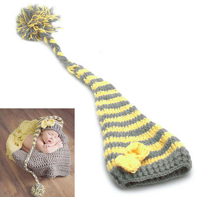 Newborn Baby Girls Boys Crochet Knit Costume Photo Photography Prop Hat Outfits