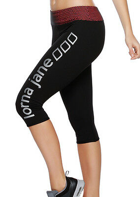 NEW Womens Lorna Jane Activewear   Engage 3/4 Tight