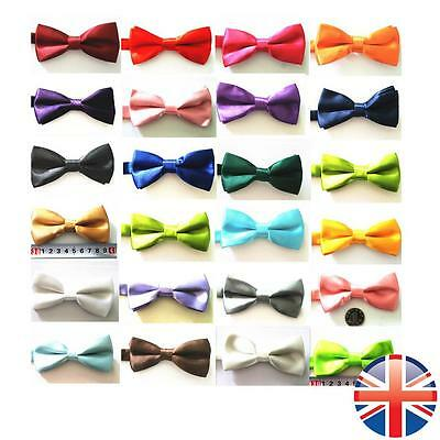 *UK Seller* Kids Children Boys Clip-On Wedding Formal Events Party Bow Tie