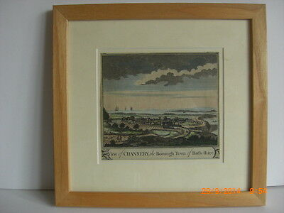 Scotland Landscape Engraving Print Ross-shire Cromarty Channery Highland 1800's