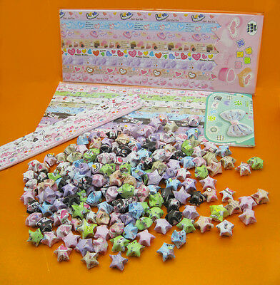 Origami Lucky Star Paper (300 Strips)