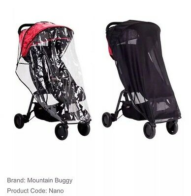Mountain Buggy Nano All Weather Set Super Fast Shipping