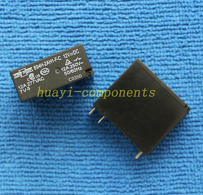 5pcs ORIGINAL 894H-2AH1-F-C, 12VDC 894H-2AH1-F-C-12VDC Relay NEW