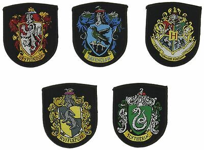 Harry Potter : SET OF 5 HOUSE CREST PATCHES from Cinereplicas