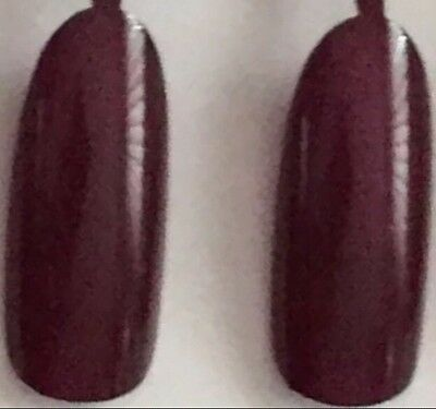 3 x 24 Künstliche Fingernägel Stiletto Full Cover Tips  Dark  Violett  ��