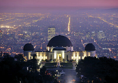Griffith Observatory Los Angeles New A4 Poster Gloss Print Laminated