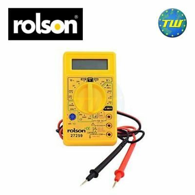 Rolson Digital Multi Meter Circuit Tester with 7 Functions & Batteries Included