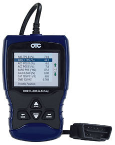 OTC TOOLS OBD II, ABS, and Airbag Scan Tool OTC-3209
