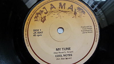 Cool Notes My Tune & You Are What You Are Rare Reggae On Jama Label