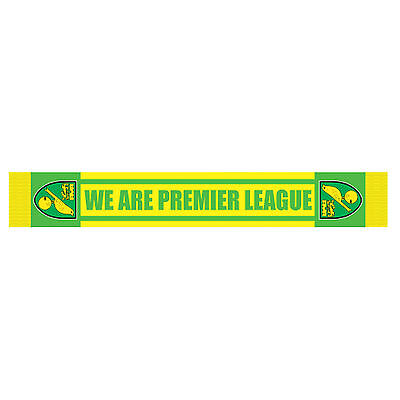 Official Norwich City Football Club We Are Premier League Scarf