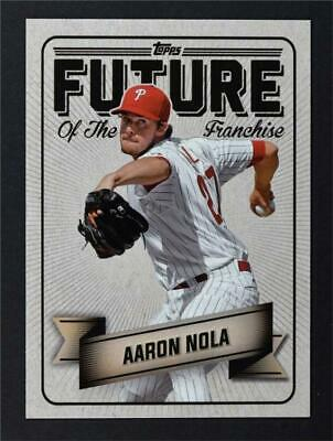 2016 Topps Bunt Future of the Franchise #FF13 Aaron Nola - NM-MT