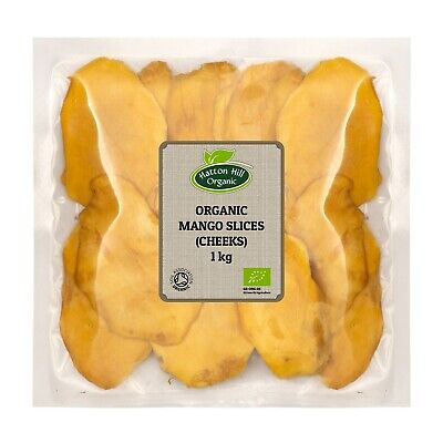 Organic Dried Mango Slices 1kg Certified Organic