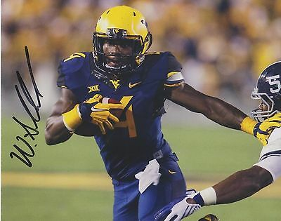 WENDELL SMALLWOOD West Virginia Mountaineers SIGNED 8x10 Photo EAGLES
