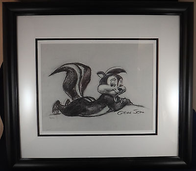 Limited edition Giclee of Pepe le Pew - signed by Chuck Jones, #76 of 120
