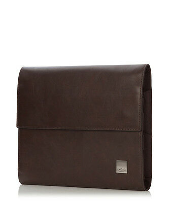Knomo London Knomad Air Premium Leather Portable Organiser Brown