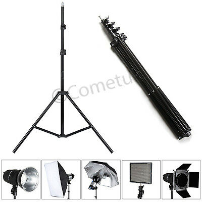 2.1M Professional Extendable Photography Video Photo Studio Tripod Light Stand