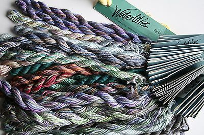 Waterlilies Caron Multiple Colors YOU CHOOSE 12 Ply Silk 6 yards Hand-Painted
