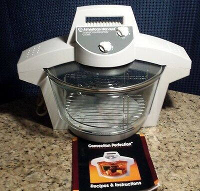 Convection perfection oven by american harvest white 1250 watt co.