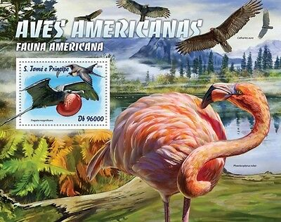 Z08 ST16310b Sao Tome and Principe 2016 Birds MNH