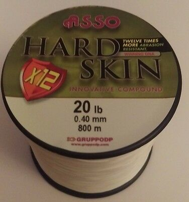 Asso Hardskin 20lb White Perfect Night Fishing Line