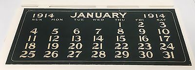 Original Coca Cola 1914 Calendar Full Pad for BETTY 12 months + year page