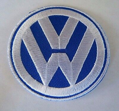 """VOLKSWAGEN VW Embroidered Iron-On Automotive Patch 2.5"""""""