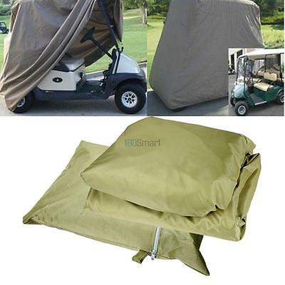 Waterproof 2 or 4 Passenger GOLF Cart Cover Storage For EZ GO Club Car Yamaha
