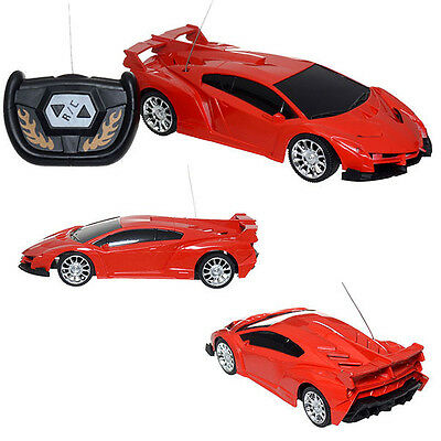 1:24 Scale RC Remote Radio Control Electric Racing Red Car Model Toy Kid Gift
