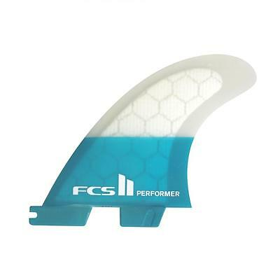 Fcs II Performer PC Tri Surfboard Fins In Large From FCS 2