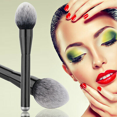 Makeup Cosmetic Brushes Kabuki Contour Face Blush Brush Powder Foundation Tool #