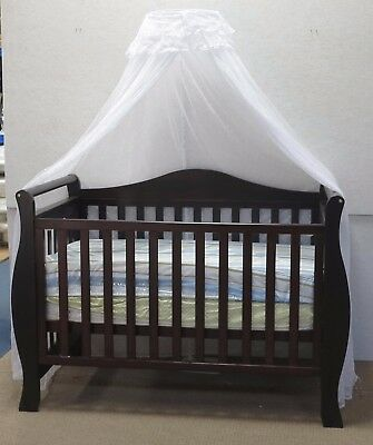 NEW Cot Net and Stand White Baby Bed Crib Decor (Cot available but NOT included)