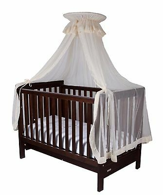 NEW INFA SECURE Cot Halo Net and Stand Beige