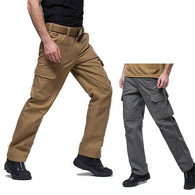 Men's Tactical Military Combat Enforcement Trousers Cargo Hunting Hiking Pants
