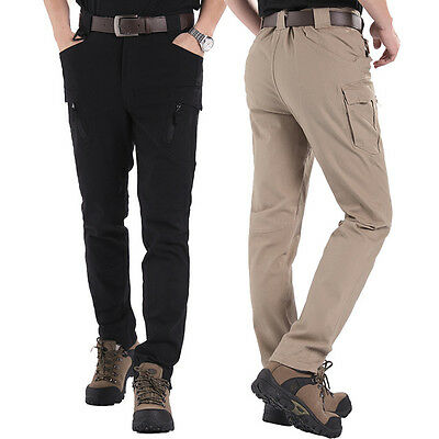Men's Tactical Military Casual Enforcement Trousers Cargo Hunting Hiking Pants