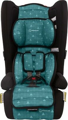 NEW  Infa Secure Comfi Treo BOOSTERS CAR SAFETY  Aqua Swirl  6m - 4 years