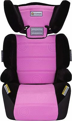 NEW  Infa Secure Vario Caprice CAPSULE BOOSTERS CAR SAFETY  PINK Swirl