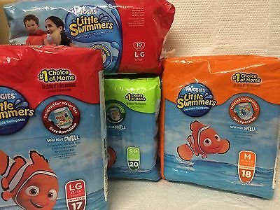 Huggies Nemo Little Swimmers Disposable Swimpants ~ Various Sizes & Quantities