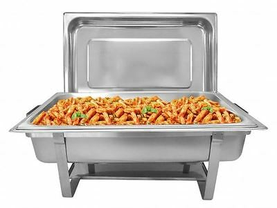 Pack Of 2 Proffesional Stainless Steel Stackable  Chafers