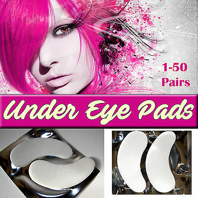 Eyelash Extension Pads Salon Quality Lint free Gel Patches Under Eye 1-50 pairs