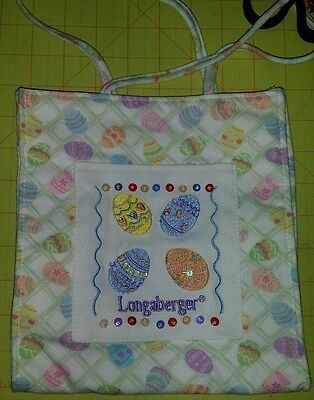 Longaberger Easter egg bag cloth