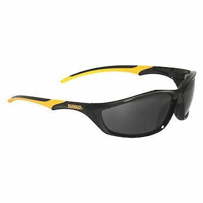 Dewalt ROUTER SAFETY GLASSES Dual Mould Rubber Temples, Smoke Or Mirror, DPG-96