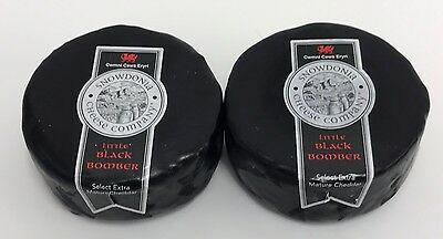 Snowdonia Little Black Bomber 200g X 2  Extra Mature Cheddar Chilled Delivery