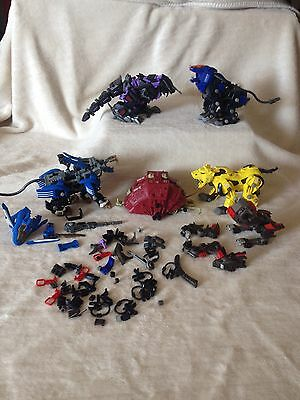 Collection Of 6 x Tomy Zoids