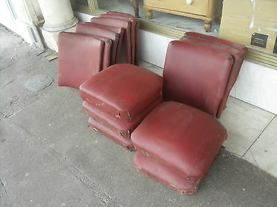 Selection Of Vintage Cinema Seats  / Theatre Seating And Back Rests