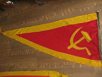 Vintage Rare 1980s.Russian (USSR) Navy  wool shp flag 57""